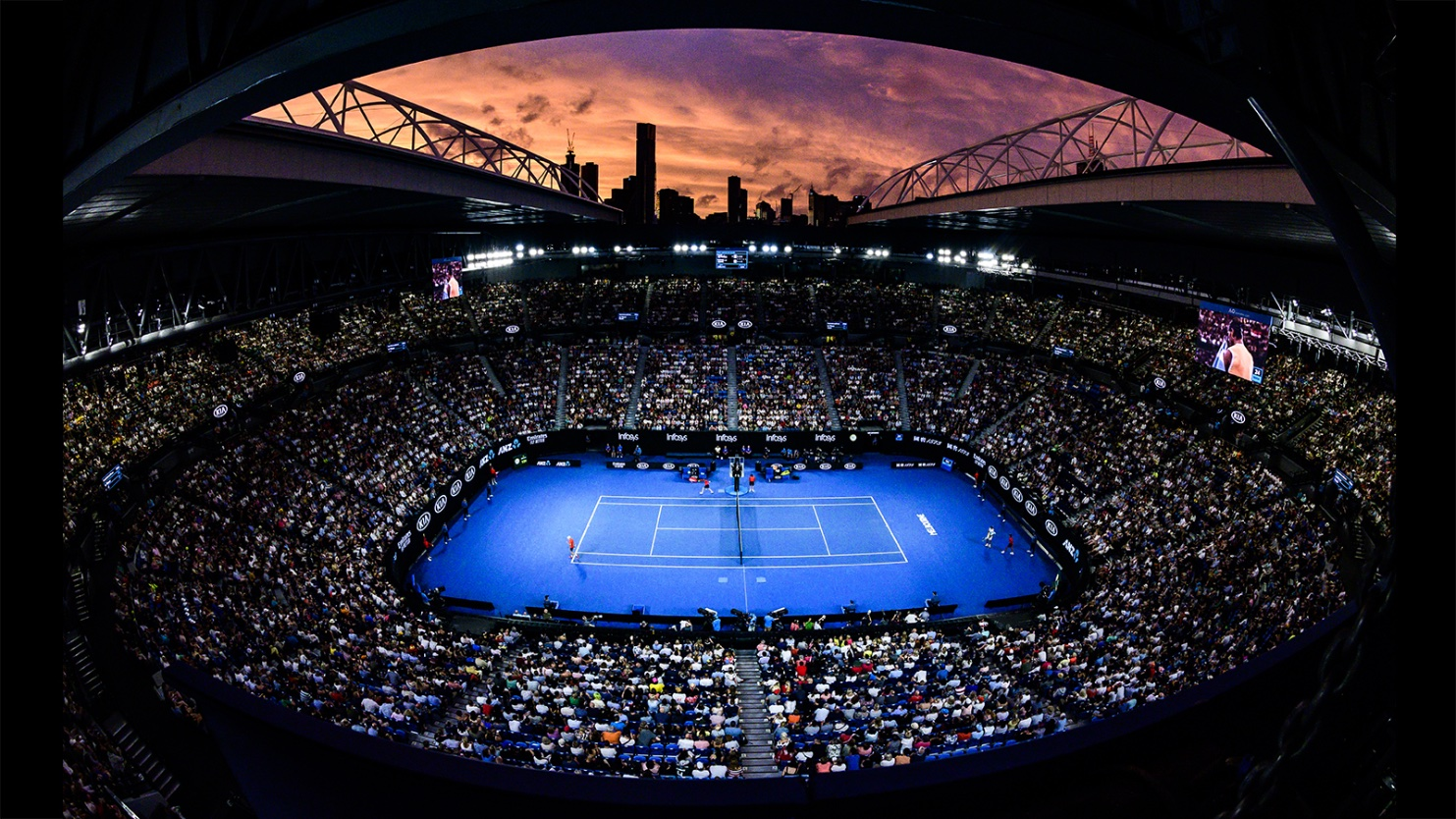 Heard The News We Re Partnering With The Australian Open